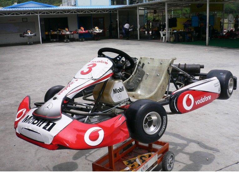 F1 MP4 27 Sticker Decal Vinyl Kart Birel CRG Tony Kart KG Unico
