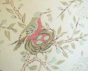 Robert Kime Linen Fabric Custom Designer Throw Pillows Pair Ivory New