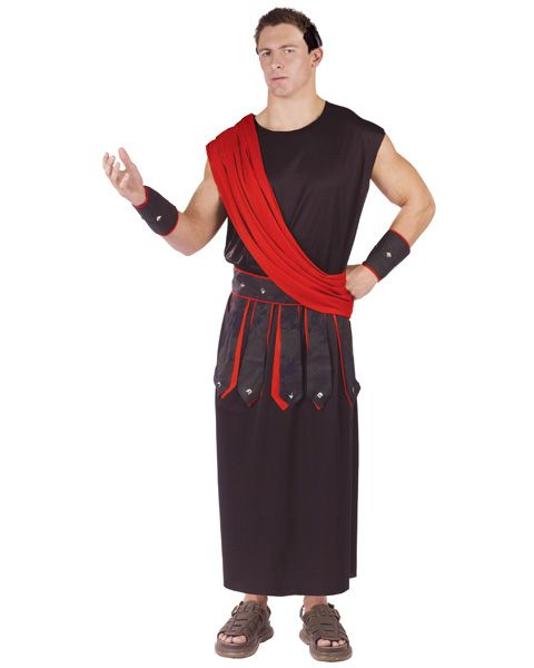 Mens Greek Spartan Warrior Costume