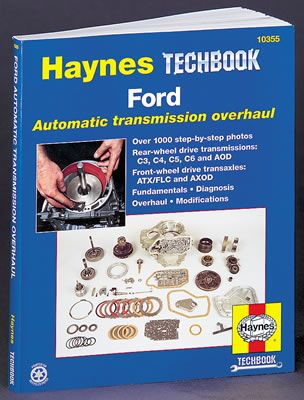 Haynes Book Ford Automatic Transmission Overhaul Manual Paperback