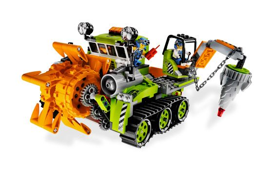 Lego Power Miners 8961 Crystal Sweeper New in Factory SEALED Box
