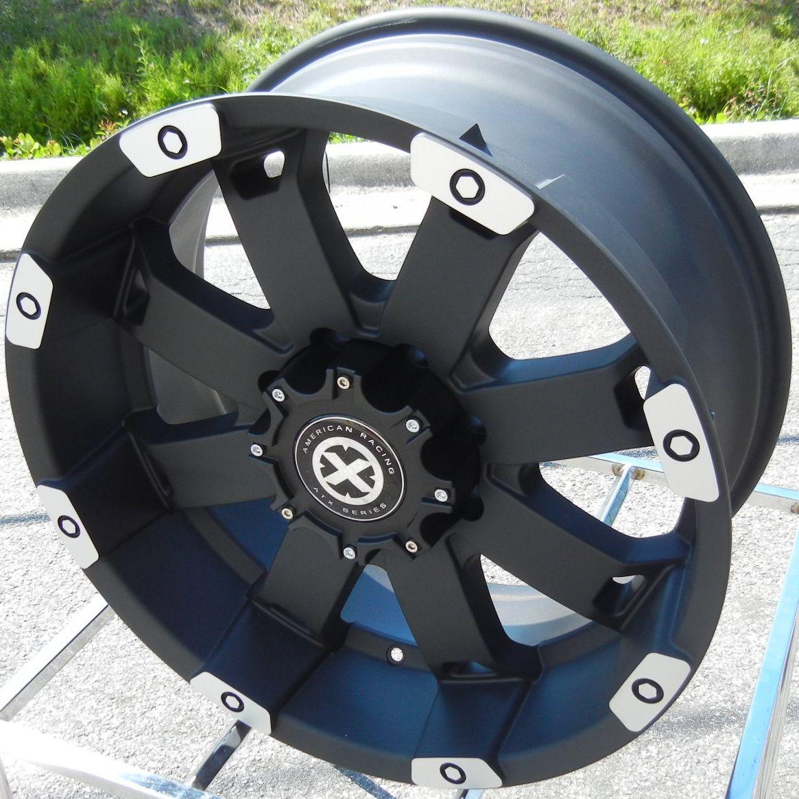 20 Black Machined ATX Crawl Wheels Rims Ford F150 Expedition