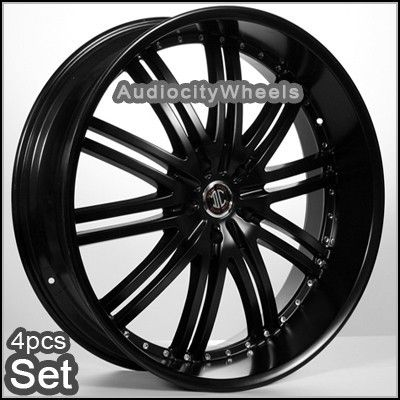 22 inch Wheels Rims Tahoe Escalade Chevy Armada RAM H3