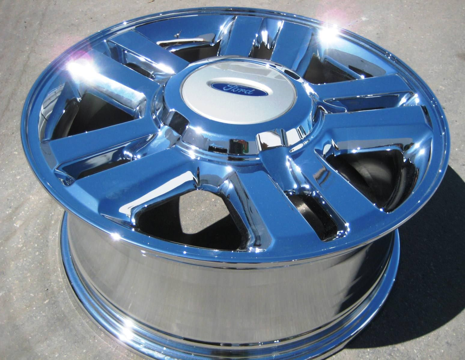 New 18 Factory Ford F150 Pickup Chrome Wheels Rims Exchange Your