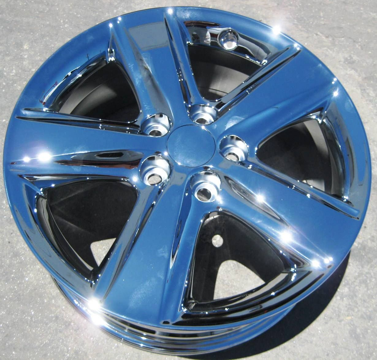 Toyota Camry Chrome Wheels Rims Sienna ES350 ES300 2010 11 Set