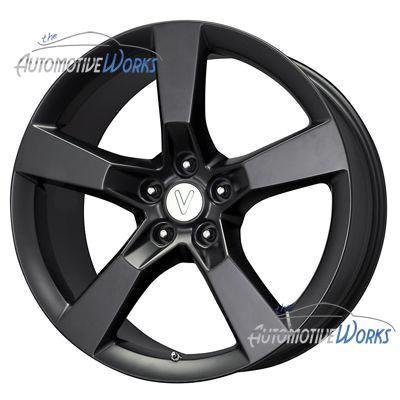 Replica Camaro SS 5x120 35mm Matte Black Wheels Rims inch 20