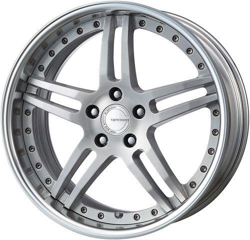 19 Work Gnosis GS 2 Silver Rims Wheels x3 E36 E46 Z4 M3