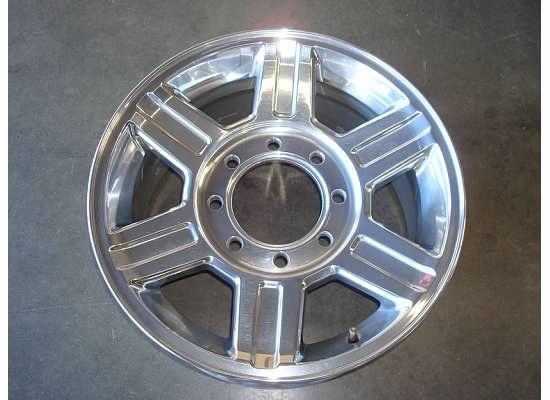 RAM 2500 3500 LARAMIE HD Wheel Rim OEM ALLOY Factory POLISHED 10 12 11