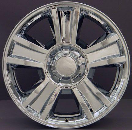 20 Fits GMC Tahoe Chrome Wheels Set of 4 Rims