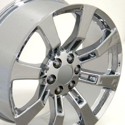 20 Chrome Escalade Wheels Rims Fit Cadillac GMC Yukon Suburban Tahoe