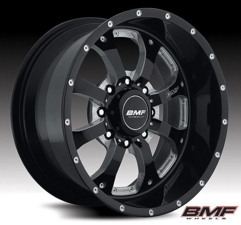 BMF Novakane 20 Death Metal Black 2011 Chevy HD Wheels