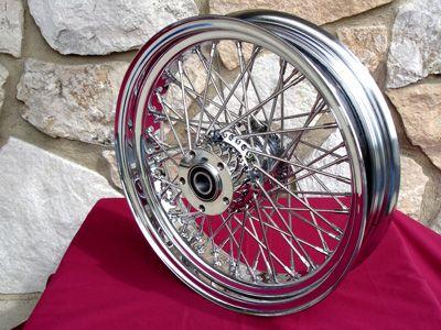 18 60 Spoke Front Wheel Parts for Harley Street Road Glide Road King