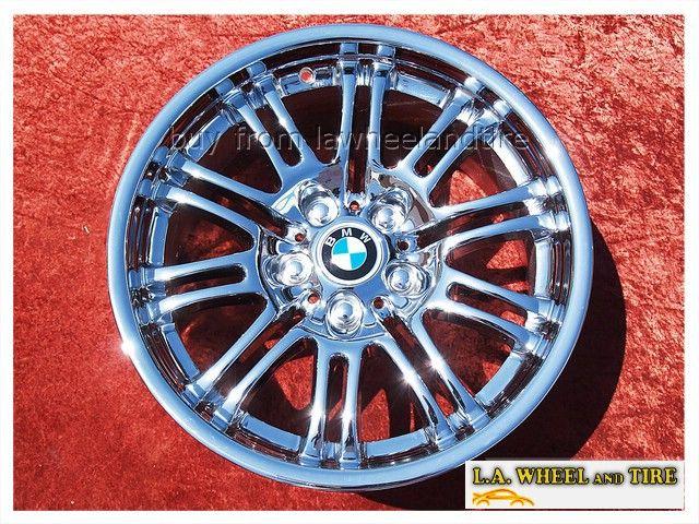 BMW M3 E46 Chrome 18 Wheels Rims Set 4 Exchange