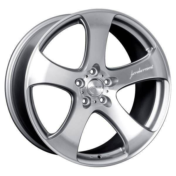 MRR Wheels Rims Set HR2 Silver Machined Face 5x112 19x8 5 35 Offset