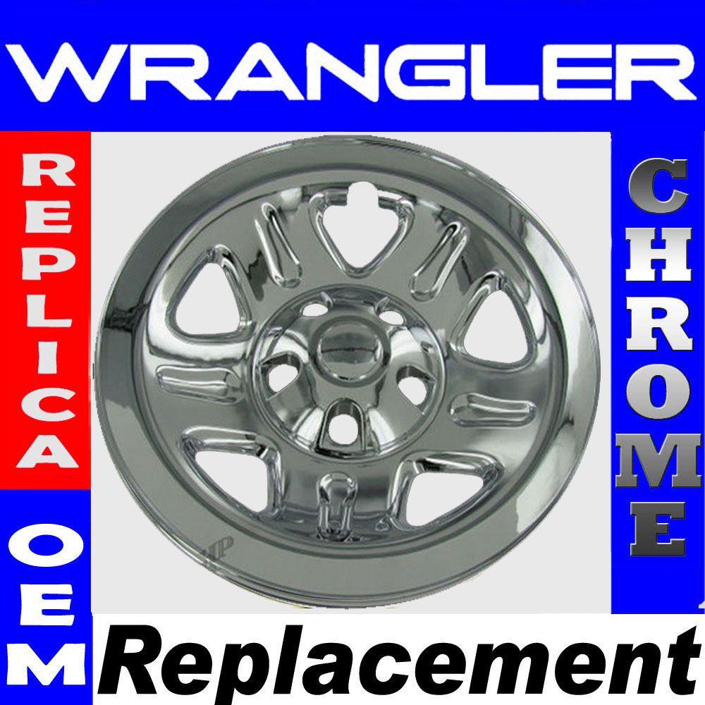 Chrome Wheel Skins Rim Covers 5spoke Hub Caps Steel Wheels Rims