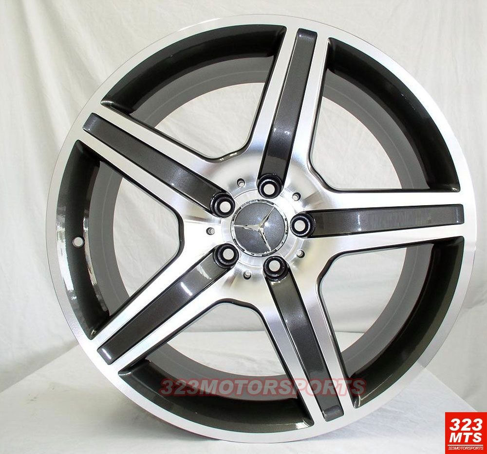 Rims Wheels inch Rims Mercedes Benz s C E S550 S600 S63 Wheels