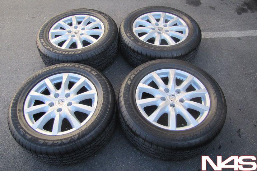 Factory BBs Porsche Cayenne Wheels Rims Goodyear Eagle Tires