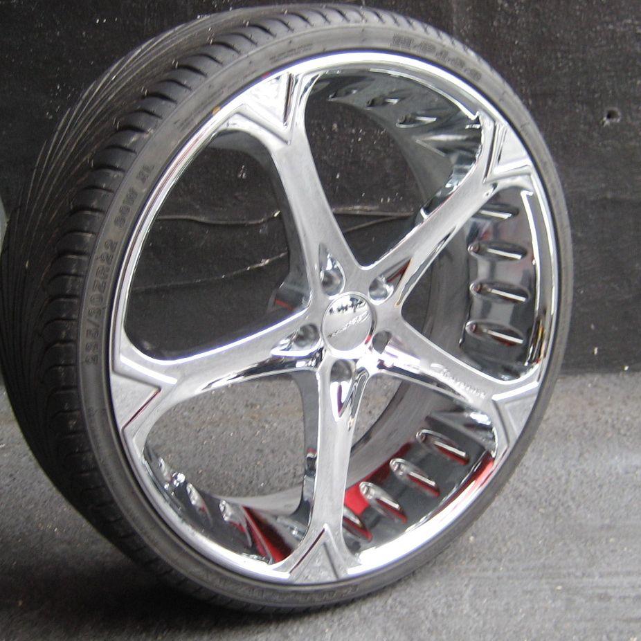 22 Chrome Giovanna Dalar Wheels Rims Tires Mercedes s 430 500 s 550