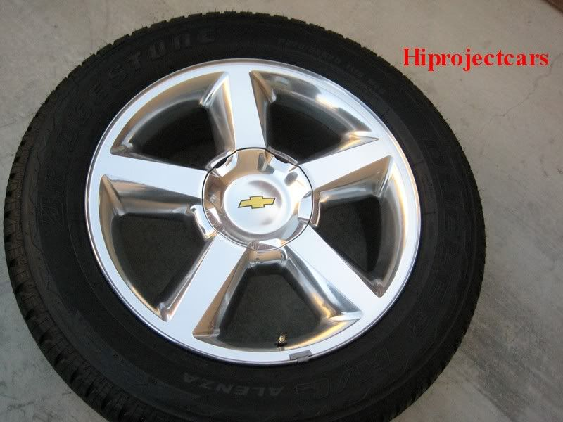 Factory Chevy Tahoe LTZ Silverado 20 Wheels Tires GMC