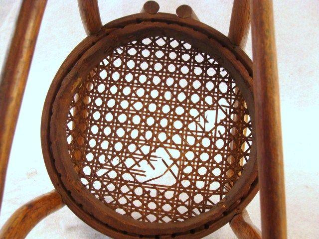 Set 6 Antique Dedham Pottery Bullion Cups Saucers
