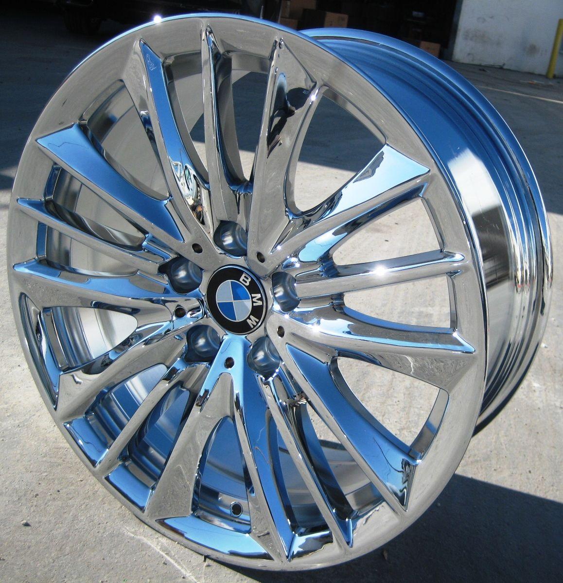 FACTORY BMW 550xi 528i 535i 550i OEM CHROME WHEELS RIMS STYLE # 332