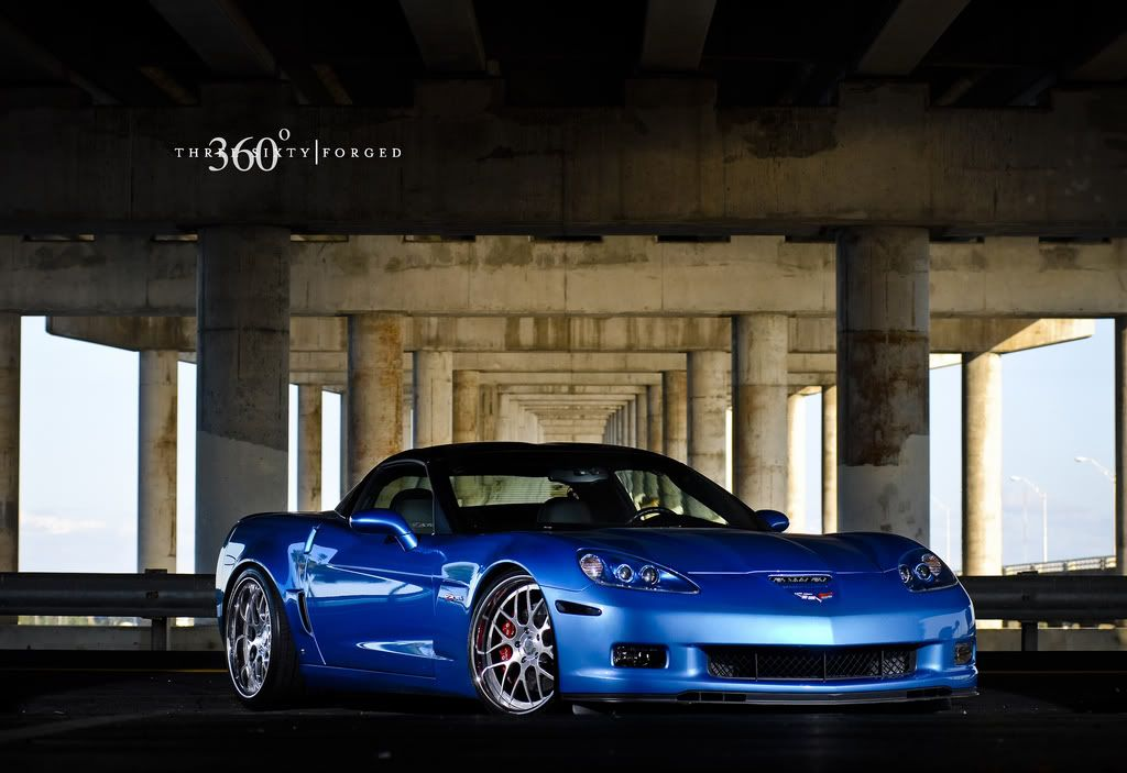 Corvette C6 z06   360 Forged Wheels & Tires package save big