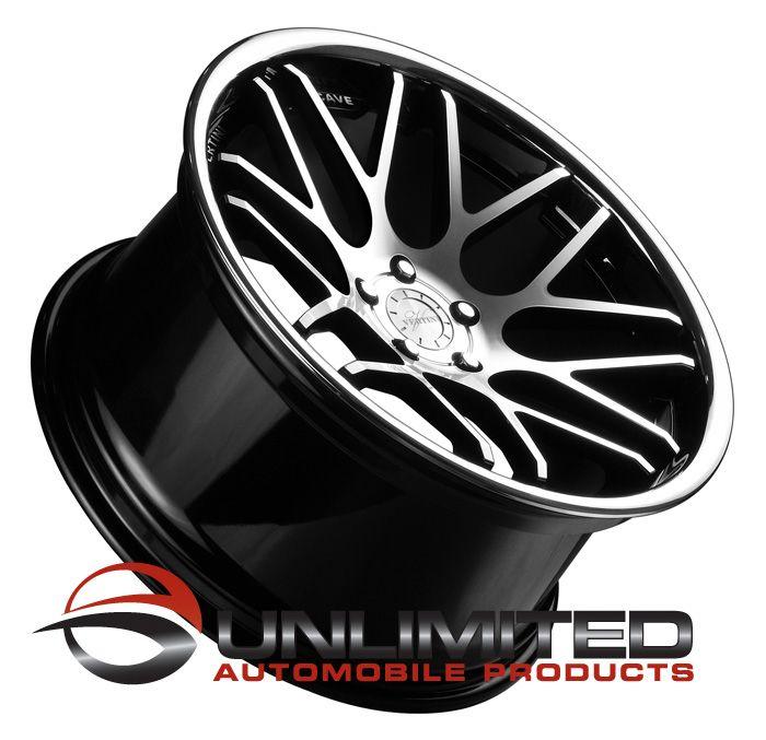 19 Vertini Magic Staggered Wheels Rims Fit Nissan 350Z 370Z Altima