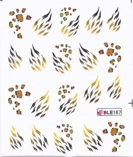 Nail Art Sticker Tattoo One Stroke BLE 167
