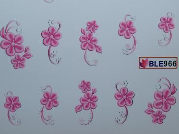 Nail Art Sticker Tattoo One Stroke BLE 966